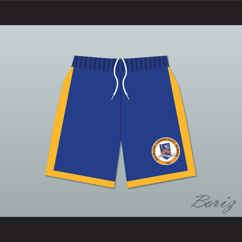 Degrassi Community School Panthers Home Basketball Shorts with Patch - borizcustom