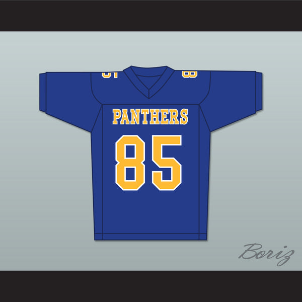 AJ Saudin Connor DeLaurier 85 Degrassi Community School Panthers Football Jersey - borizcustom