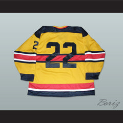 Germany National Team Hockey Jersey Any Player or Number D2 Movie - borizcustom