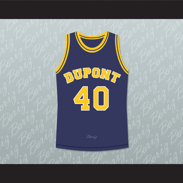 Randy Moss 40 Dupont High School Panthers Basketball Jersey Any Player or Number - borizcustom