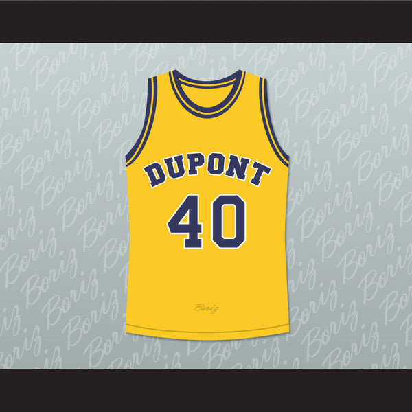 Randy Moss 40 Dupont High School Panthers Basketball Jersey Any Player or Number - borizcustom - 1