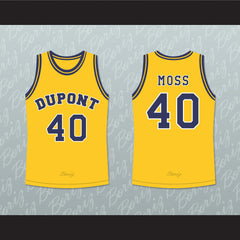 Randy Moss 40 Dupont High School Panthers Basketball Jersey Any Player or Number - borizcustom - 3