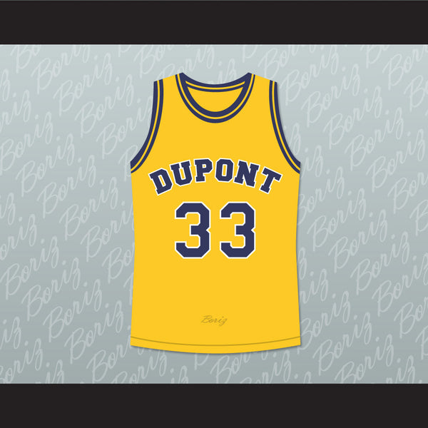Jason Williams 33 Dupont High School Panthers Basketball Jersey Any Player - borizcustom