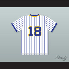 Dan Marino 18 Central Catholic High School Vikings Pinstriped Baseball Jersey