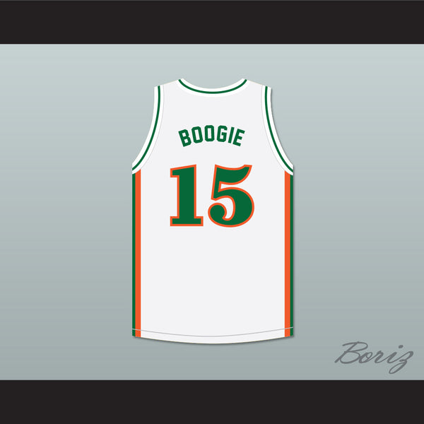 pretty nice a2474 5318b DeMarcus 'Boogie' Cousins 15 LeFlore High School Rattlers White Basketball  Jersey