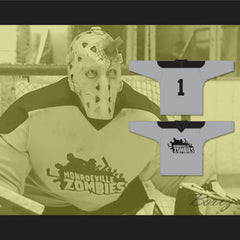 Jeff Anderson Deacon 1 Monroeville Zombies Hockey Jersey Zack and Miri Make a Porno