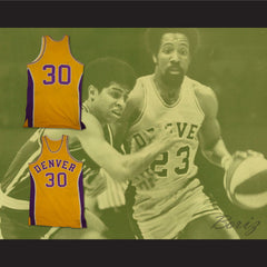 1973-74 Denver Basketball Jersey Any Player or Number - borizcustom