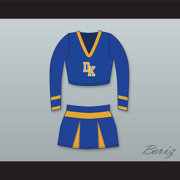 Megan Fox Jennifer Check Devil's Kettle High School Long Sleeve Cheerleader Uniform Jennifer's Body - borizcustom - 1