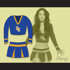 Megan Fox Jennifer Check Devil's Kettle High School Long Sleeve Cheerleader Uniform Jennifer's Body - borizcustom - 3