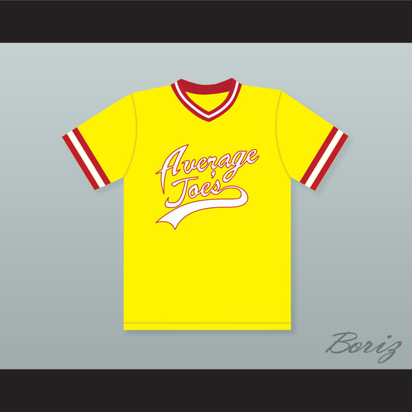 Alan Tudyk Steve 'The Pirate' Cowan 1539 Average Joe's Gym Dodgeball Jersey - borizcustom - 1