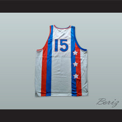 1976 Downtown All Stars 15 Basketball Jersey - borizcustom - 2
