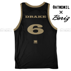 Scorpion Basketball Jersey (Black & Gold)