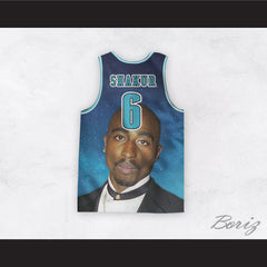 Tupac Shakur 6 Duke Basketball Jersey Design 3