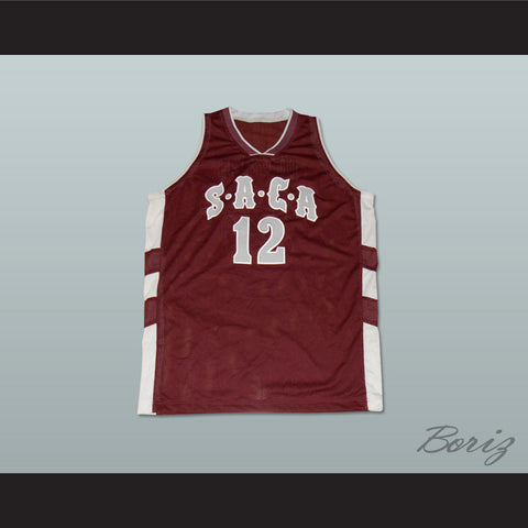 37a5e7cc7 Dwight Howard 12 SACA Southwest Atlanta Christian Academy Basketball Jersey