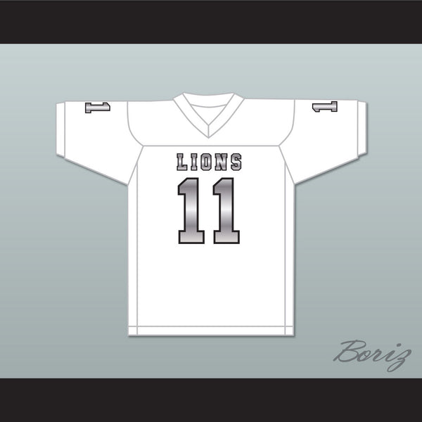 competitive price 7d32e 2b1f7 Chad Kelly 11 EMCC Lions White Alternate Football Jersey