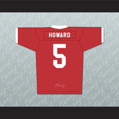 Vince Howard 5 East Dillon Lions Football Jersey Friday Night Lights - borizcustom - 2
