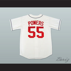 Kenny Powers Eastbound and Down Atlanta Baseball Jersey New - borizcustom