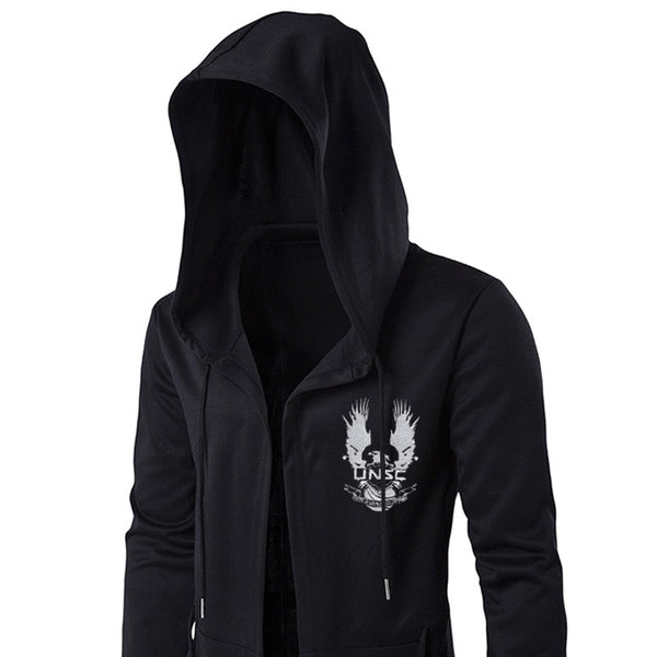 Embrpdiery Game Hoodie Pubg Witcher Assassins Creed Jacket Resident Evil Ow Hoody Sweatshirts Outerwear Cosplay Coat Boy Men