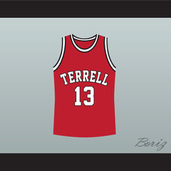 Eric Bishop Jamie Foxx Terrell Tigers 13 High School Basketball Jersey - borizcustom
