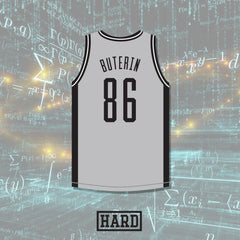 Vitalik Buterin 86 Ethereum Basketball Jersey Crypto League by HARD