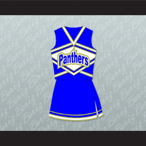 Friday Night Lights Lyla Garrity (Minka Kelly) Dillon Panthers High School Cheerleader Uniform Stitch Sewn - borizcustom