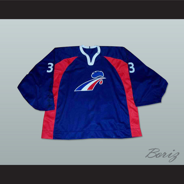 France National Team Hockey Jersey Any Player or Number - borizcustom