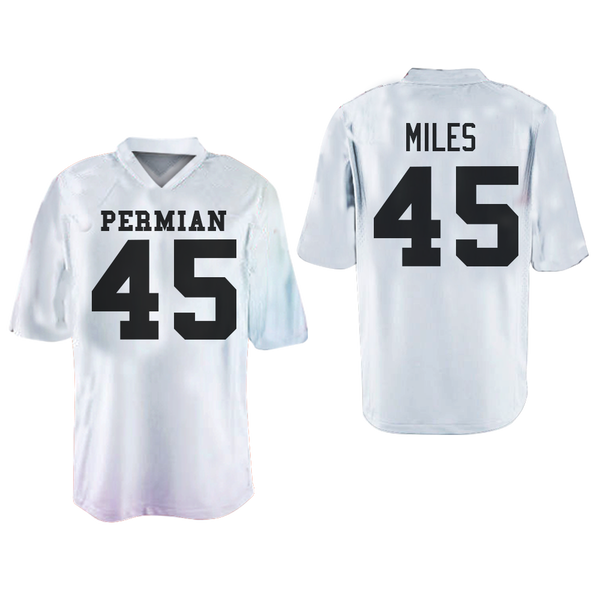 36efe1f1471 ... Boobie Miles 45 Permian High School Panthers Football Jersey Friday  Night Lights Colors ...