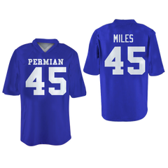 Boobie Miles 45 Permian High School Panthers Football Jersey Friday Night Lights Colors