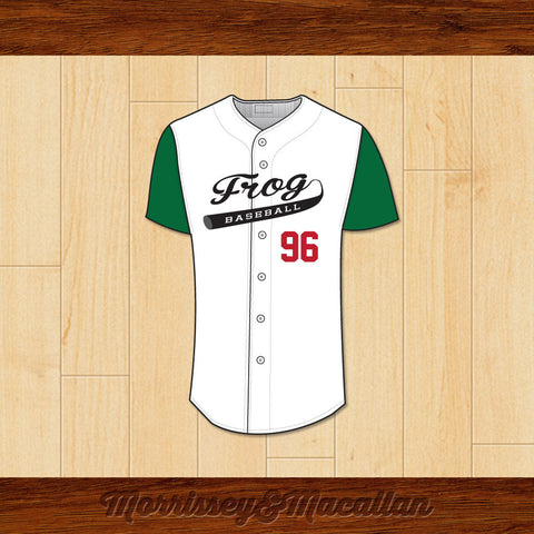 Frog Baseball 96 Butt-Head Baseball Jersey by Morrissey&Macallan - borizcustom