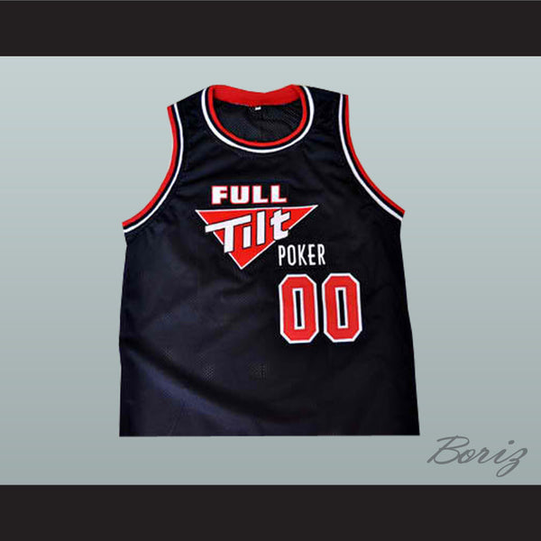 Full Tilt Poker Customized Jersey Your Name and Your Number - borizcustom