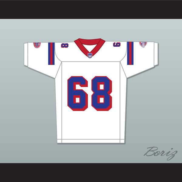 Ace Yonamine Jumbo Fumiko 68 Washington Sentinels Away Football Jersey The Replacements Includes League Patch - borizcustom