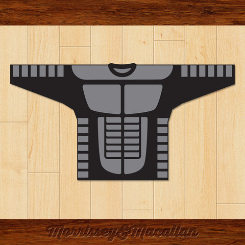 Future Shock Hockey Jersey by Morrissey&Macallan - borizcustom