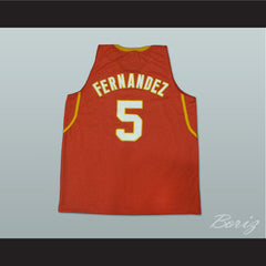 Rudy Fernández Basketball Jersey Spain New All Sizes - borizcustom - 2