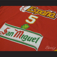 Rudy Fernández Basketball Jersey Spain New All Sizes - borizcustom - 3