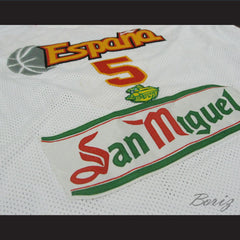 Rudy Fernández Basketball Jersey Spain New All Sizes - borizcustom - 9