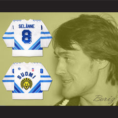 Finland Teemu Selänne Hockey Jersey Any Player or Number New - borizcustom