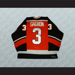 Fort Wayne Komets Sean Gagnon 3 Hockey Jersey Stitch Sewn NEW Any Size or Player - borizcustom