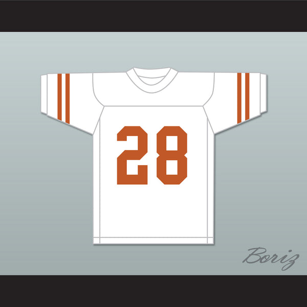 size 40 63ccf cb107 Freddie Steinmark 28 University of Texas at Austin White Football Jersey My  All American