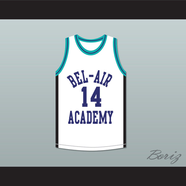 Will Smith 14 Bel-Air Academy Sneaker Colors Basketball Jersey 9488b943e
