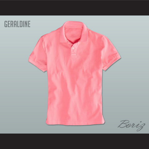Men's Solid Color Geraldine Polo Shirt - borizcustom