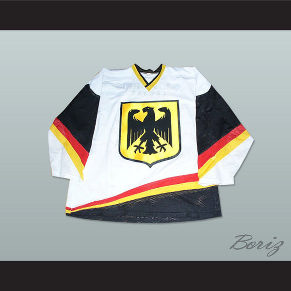 Germany National Team Hockey Jersey Any Player or Number - borizcustom