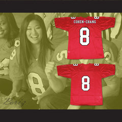 Tina Cohen-Chang 8 William Mckinley High School Football Jersey - borizcustom - 3