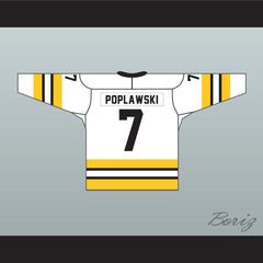 Derrick Poplawski 7 Lovell Kings Hockey Jersey Includes NCHL & Captain Patch GOON - borizcustom