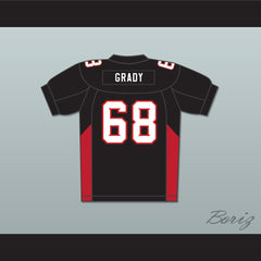 68 Grady Mean Machine Convicts Football Jersey - borizcustom