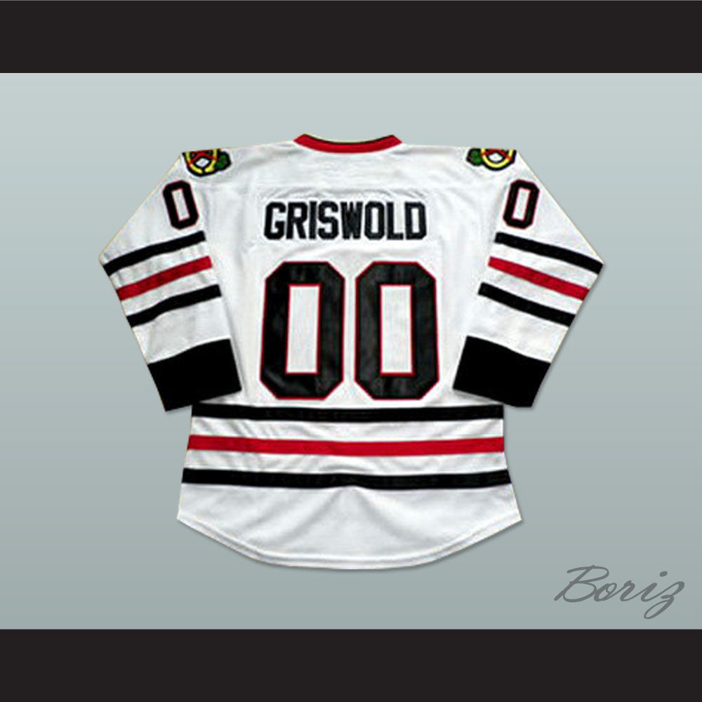 best service 6d0ed b21b9 Clark Griswold Chicago Hockey Jersey Christmas Vaction Chevy Chase