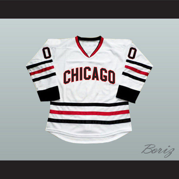 new concept 8dfbb e9510 Clark Griswold 00 Chicago Alternate Hockey Jersey