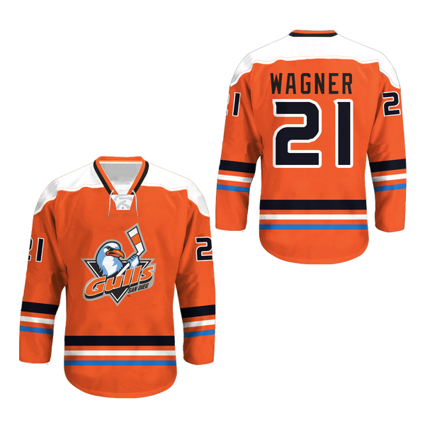 San Diego Gulls Hockey Jersey Any Player or Number New Stitch ... 829297c89