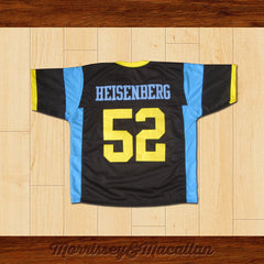 Golden Moth Heisenberg 52 Football Jersey by Morrissey&Macallan - borizcustom - 2