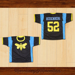 Golden Moth Heisenberg 52 Football Jersey by Morrissey&Macallan - borizcustom - 3