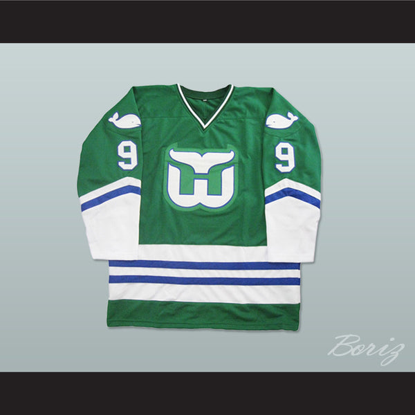 Gordie Howe Hartford Whalers Hockey Jersey Stitch Any Size Any Number Any Name New - borizcustom